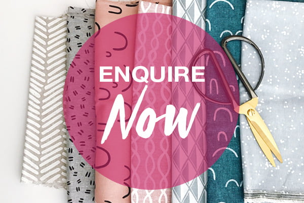 Online surface design course - textile design - fabric and