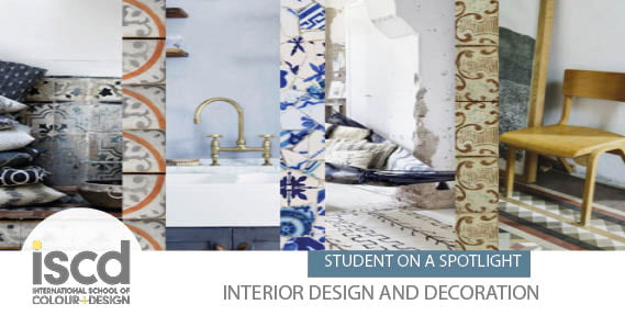 Larissa Gerritsen Was A Campus Student At Iscd Who Moved Out Of Sydney And Took Up Her Studies Online Starting The Diploma Interior Design