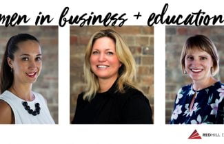 Leading women in business and education