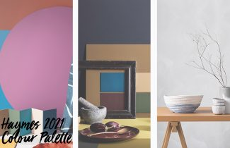 A celebration of colour, Haymes Paint 2021 Colour Palette